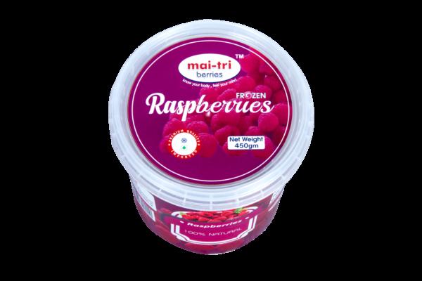 Frozen-Raspberries-Container-450-grams