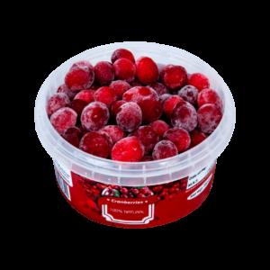 Frozen-Cranberries-Open-Container-200-grams